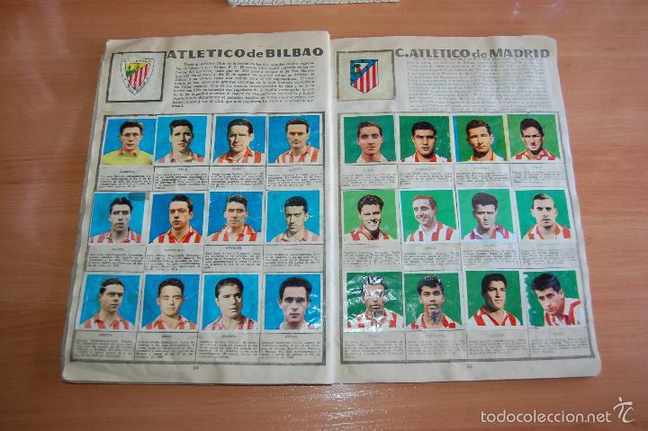 Álbum de fútbol completo: ALBUM CROMOS COMPLETO ESTRELLAS DEL FUTBOL E INDIOS Y PIONEROS CHOCOLATES DULCINEA - Foto 8 - 58117054