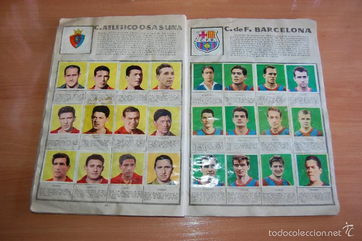 Álbum de fútbol completo: ALBUM CROMOS COMPLETO ESTRELLAS DEL FUTBOL E INDIOS Y PIONEROS CHOCOLATES DULCINEA - Foto 9 - 58117054