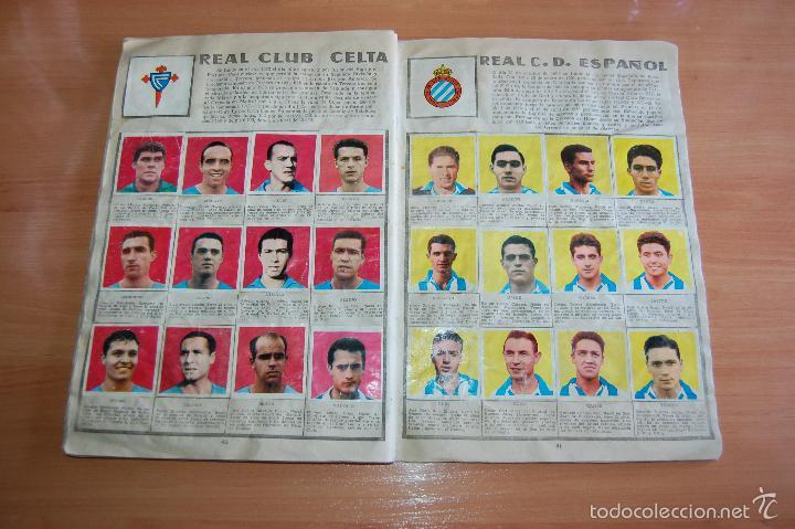 Álbum de fútbol completo: ALBUM CROMOS COMPLETO ESTRELLAS DEL FUTBOL E INDIOS Y PIONEROS CHOCOLATES DULCINEA - Foto 11 - 58117054