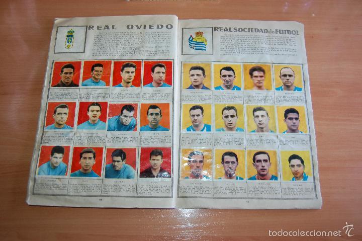 Álbum de fútbol completo: ALBUM CROMOS COMPLETO ESTRELLAS DEL FUTBOL E INDIOS Y PIONEROS CHOCOLATES DULCINEA - Foto 13 - 58117054