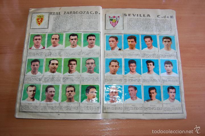 Álbum de fútbol completo: ALBUM CROMOS COMPLETO ESTRELLAS DEL FUTBOL E INDIOS Y PIONEROS CHOCOLATES DULCINEA - Foto 14 - 58117054