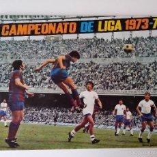 Álbum de fútbol completo: ALBUM FUTBOL CAMP. LIGA 1973/74 FHER COMPLETO MUY BUEN ESTADO. Lote 58229848