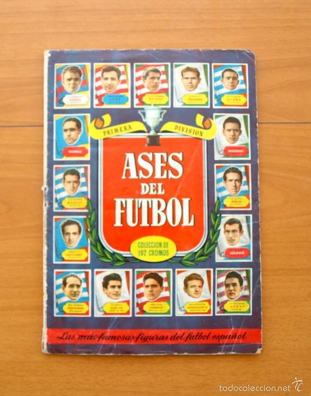 ASES DEL FÚTBOL - LIGA 1952-1953, 52-53 - EDITORIAL BRUGUERA - COMPLETO - VER FOTOS INTERIORES (Coleccionismo Deportivo - Álbumes y Cromos de Deportes - Álbumes de Fútbol Completos)