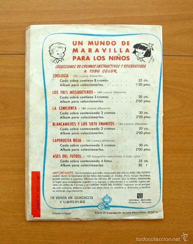Álbum de fútbol completo: Ases del fútbol - Liga 1952-1953, 52-53 - Editorial Bruguera - COMPLETO - ver fotos interiores - Foto 11 - 58243204