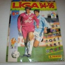 Álbum de fútbol completo: ÁLBUM LIGA 94 95 - PANINI - COMPLETO . Lote 125079415