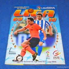 Álbum de fútbol completo: LIGA 2009/2010 (ED. ESTE) - COLECCIÓN COMPLETA CON TODOS LOS EXTRAS - EN PERFECTO ESTADO. Lote 58555750