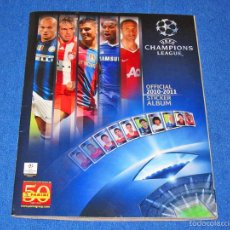 Álbum de fútbol completo: UEFA CHAMPIONS LEAGUE 2010/2011 (PANINI) - COLECCIÓN COMPLETA Y EN EXCELENTE ESTADO. Lote 58556084