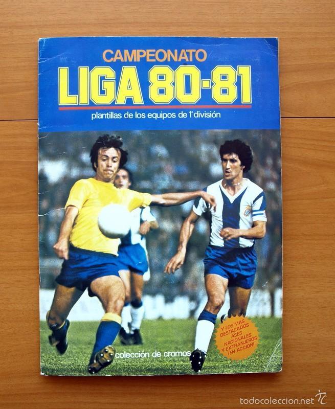 CAMPEONATO DE LIGA 80-81, 1980-1981 - EDICIONES ESTE - COMPLETO (Coleccionismo Deportivo - Álbumes y Cromos de Deportes - Álbumes de Fútbol Completos)