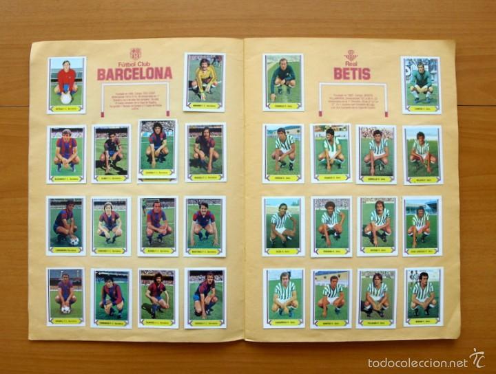 Álbum de fútbol completo: Campeonato de Liga 80-81, 1980-1981 - Ediciones Este - COMPLETO - Foto 3 - 59031940