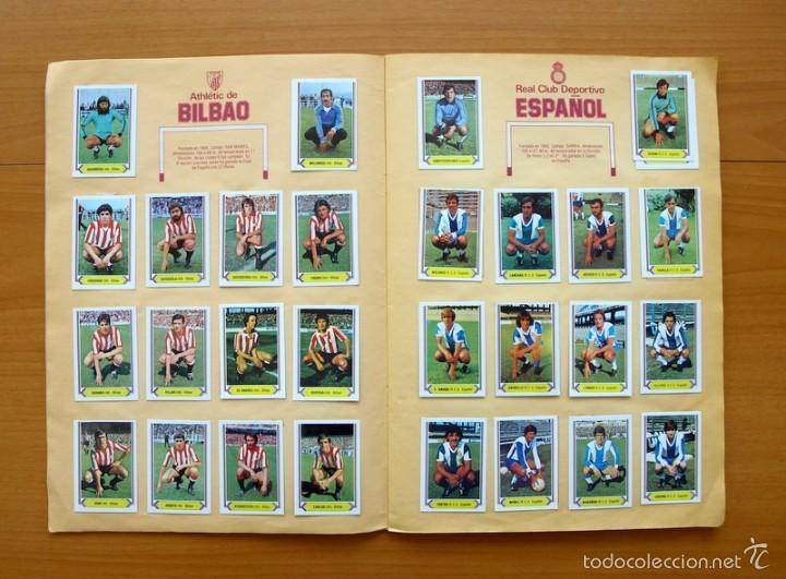 Álbum de fútbol completo: Campeonato de Liga 80-81, 1980-1981 - Ediciones Este - COMPLETO - Foto 4 - 59031940