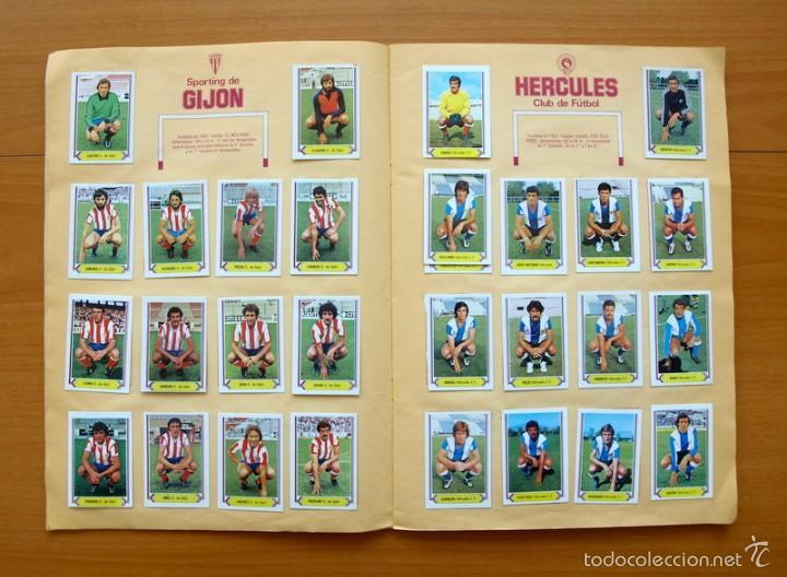 Álbum de fútbol completo: Campeonato de Liga 80-81, 1980-1981 - Ediciones Este - COMPLETO - Foto 5 - 59031940