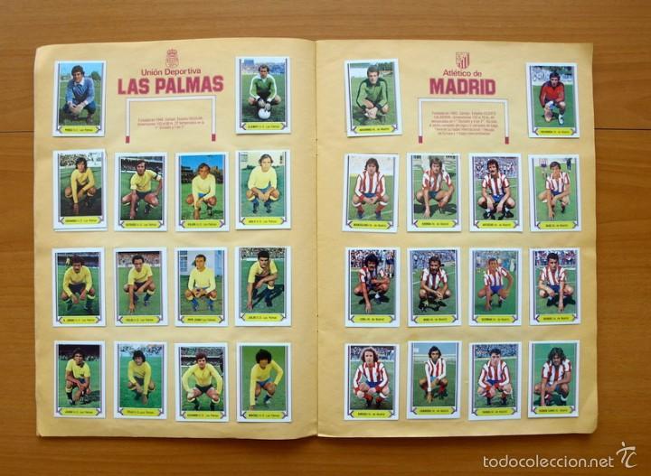 Álbum de fútbol completo: Campeonato de Liga 80-81, 1980-1981 - Ediciones Este - COMPLETO - Foto 6 - 59031940