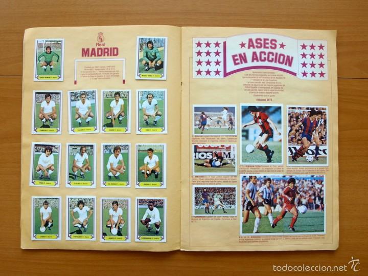 Álbum de fútbol completo: Campeonato de Liga 80-81, 1980-1981 - Ediciones Este - COMPLETO - Foto 7 - 59031940