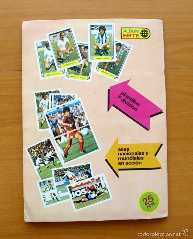 Álbum de fútbol completo: Campeonato de Liga 80-81, 1980-1981 - Ediciones Este - COMPLETO - Foto 15 - 59031940