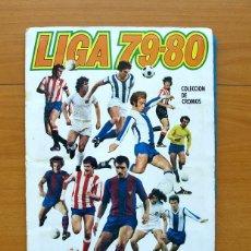 Álbum de fútbol completo: LIGA 79-80, 1979-1980 - EDICIONES ESTE - COMPLETO CON 28 CROMOS DOBLES, 308 CROMOS EN TOTAL. Lote 59033095