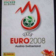 Álbum de fútbol completo: ALBUM PANINI EURO 2008 - 100% COMPLETO A PEGAR. Lote 269477273