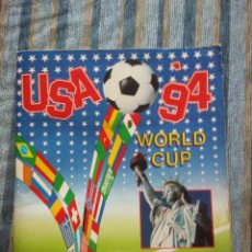 Álbum de fútbol completo: ALBUM DE CROMOS FUTBOL USA 94 WORLD CUP (COMPLETO) (PANINI 1994) -37 CROMOS FIRMADOS POR JUGADORES. Lote 59770380