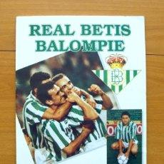 Álbum de fútbol completo: REAL BETIS BALOMPIE - EDITORIAL MAGIC BOX 1995 - COMPLETO - VER FOTOS. Lote 59832352