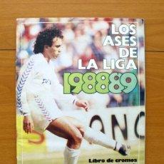 Álbum de fútbol completo: LOS ASES DE LA LIGA 1988-1989, 88-89 - DIARIO AS - COMPLETO - VER FOTOS INTERIORES. Lote 59838680