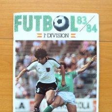 Álbum de fútbol completo: FUTBOL 83-84, 1ª DIVISIÓN - CROMOS CANO - COMPLETO, VER FOTOS INTERIORES. Lote 59844500
