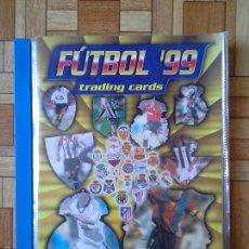 Álbum de fútbol completo: FÚTBOL 99 - TRADING CARDS - PANINI - COMPLETO 324 CROMOS + 13 SIN NUMERACIÓN. Lote 59888919
