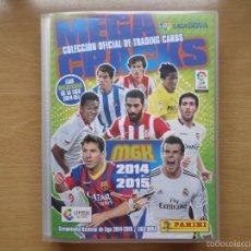 Álbum de fútbol completo: COLECCIÓN COMPLETA ÁLBUM MEGACRACKS 2014 2015 14 15 PANINI FÚTBOL EDICIÓN LIMITADA MEGA CRACKS. Lote 59951311