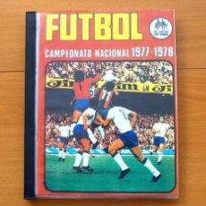 Álbum de fútbol completo: CAMPEONATO LIGA 1977-1978, 77-78 - RUIZ ROMERO, COMPLETO, 336 CROMOS NUEVOS SIN PEGAR, LEER DENTRO. Lote 60227383