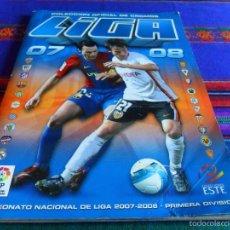 Álbum de fútbol completo: LIGA ESTE 07 08 2007 2008 COMPLETO CON MERCADO INVIERNO. BE. REGALO 94 95 1994 1995 INCOMPLETO.. Lote 60251395