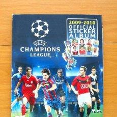 Álbum de fútbol completo: CHAMPIONS LEAGUE 2009-2010, 09-10 - EDITORIAL PANINI - COMPLETO - VER FOTOS INTERIORES. Lote 60368931