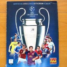 Álbum de fútbol completo: CHAMPIONS LEAGUE 2011-2012, 11-12 - EDITORIAL PANINI - COMPLETO - VER FOTOS INTERIORES. Lote 60370227