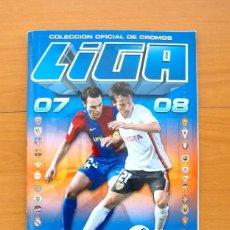 Álbum de fútbol completo: LIGA 07-08, 2007-2008 - EDICIONES ESTE - COMPLETO, VER FOTOS Y EXPLICACIÓN INTERIOR. Lote 60520031