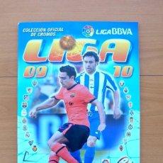Álbum de fútbol completo: LIGA 09-10, 2009-2010 - EDICIONES ESTE - COMPLETO, VER FOTOS Y EXPLICACIÓN INTERIOR. Lote 60523175