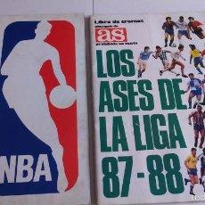 Álbum de fútbol completo: LOTE DE DOS ALBUNES COMPLETOS . Lote 60714119