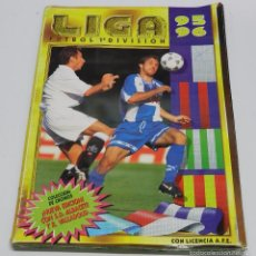 Álbum de fútbol completo: ALBUM COMPLETO LIGA 95-96, COLECCIONES ESTE, UN CROMO POR CASILLA, TIENE TODOS LOS FICHAJES MENOS LO. Lote 60986587