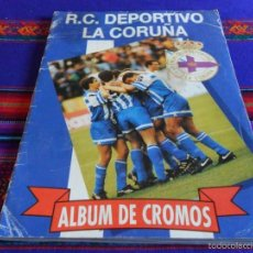 Álbum de fútbol completo: R. C. DEPORTIVO LA CORUÑA COMPLETO. MAGIC BOX INTERNATIONAL 1993. DEPOR. BUEN ESTADO Y RARO.. Lote 61065283