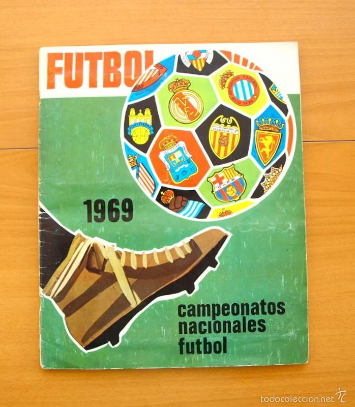 Campeonatos Nacionales de Fútbol 1968-1969, 68-69 - Editorial Ruiz Romero - Completo segunda mano