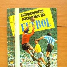 Álbum de fútbol completo: CAMPEONATOS NACIONALES DE FÚTBOL 1968, 67-68 - EDITORIAL RUIZ ROMERO - COMPLETO. Lote 61087787