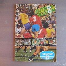 Álbum de fútbol completo: FUTBOL EN ACCIÓN DE DANONE. 96 CROMOS. 1982. COMPLETO. Lote 61088083