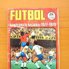 Álbum de fútbol completo: FÚTBOL CAMPEONATO NACIONAL 1977-1978, 77-78 - EDITORIAL RUIZ ROMERO - COMPLETO. Lote 61088691