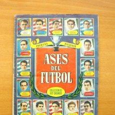 Álbum de fútbol completo: ASES DEL FÚTBOL 1952-1953, 52-53 - EDITORIAL BRUGUERA - COMPLETO. Lote 61091383