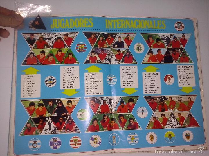 Álbum de fútbol completo: Álbum de Fútbol Fher Disgra 1972 1973 temporada 72 73 con todo lo editado! Poster Central Completo! - Foto 19 - 40118086