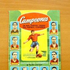 Álbum de fútbol completo: CAMPEONES 1954 - 1953-1954, 53-54 - EDITORIAL BRUGUERA - COMPLETO, VER FOTOS ADICIONALES. Lote 61248151