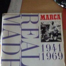 Álbum de fútbol completo: ALBUM CROMOS REAL MADRID MUSEO BLANCO 1941-1969 MARCA COMPLETO. Lote 61327431