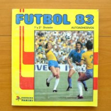 Álbum de fútbol completo: FUTBOL 83 - EDITORIAL PANINI 1982-1983, 82-83 - COMPLETO. Lote 61454135