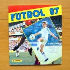 Álbum de fútbol completo: FÚTBOL 87 - EDITORIAL PANINI 1986-1987, 86-87 - COMPLETO. Lote 61454503