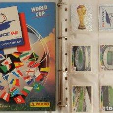 Álbum de fútbol completo: COLECCION COMPLETA PANINI MUNDIAL FRANCIA 1998 ALBUM VACIO + CROMOS WORLD CUP FULL SET WC FRANCE 98. Lote 61485323