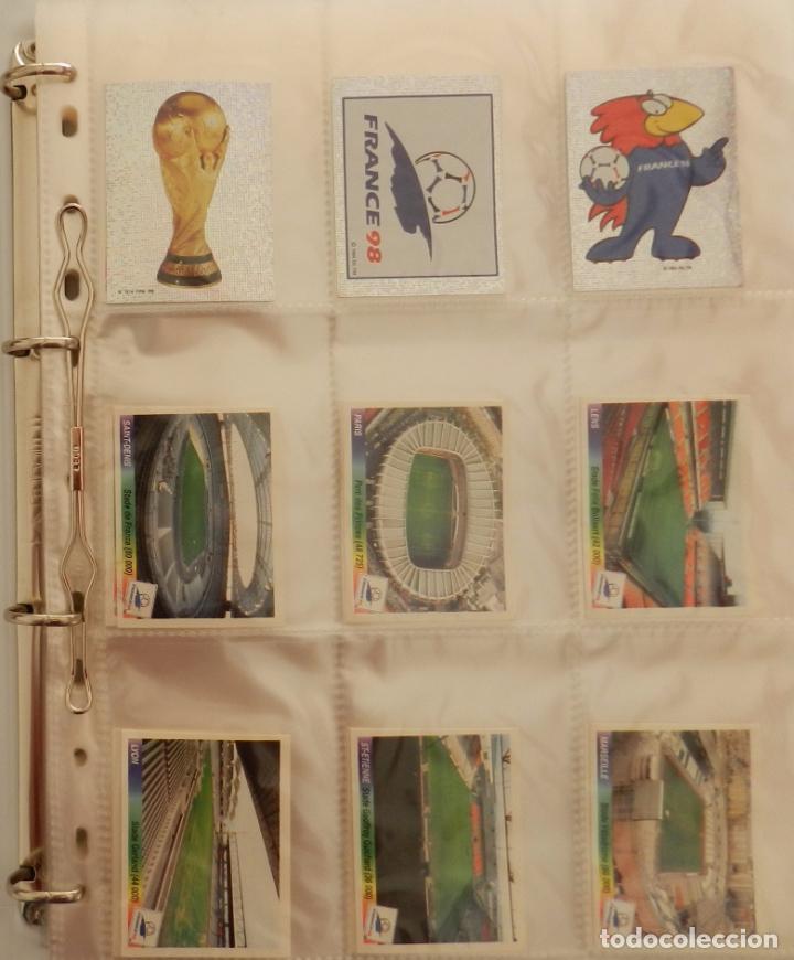 Álbum de fútbol completo: COLECCION COMPLETA PANINI MUNDIAL FRANCIA 1998 ALBUM VACIO + CROMOS WORLD CUP FULL SET WC FRANCE 98 - Foto 2 - 61485323
