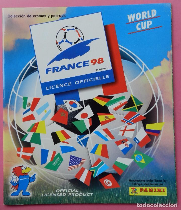 Álbum de fútbol completo: COLECCION COMPLETA PANINI MUNDIAL FRANCIA 1998 ALBUM VACIO + CROMOS WORLD CUP FULL SET WC FRANCE 98 - Foto 6 - 61485323