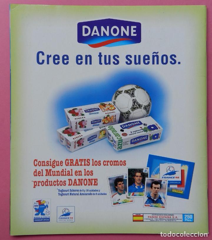 Álbum de fútbol completo: COLECCION COMPLETA PANINI MUNDIAL FRANCIA 1998 ALBUM VACIO + CROMOS WORLD CUP FULL SET WC FRANCE 98 - Foto 7 - 61485323