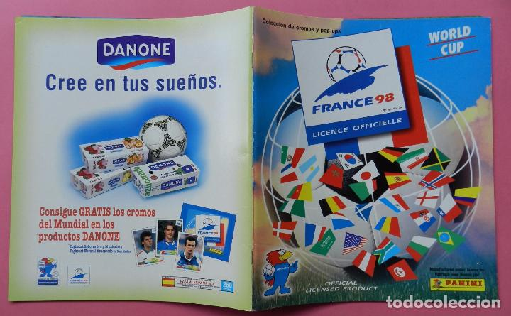 Álbum de fútbol completo: COLECCION COMPLETA PANINI MUNDIAL FRANCIA 1998 ALBUM VACIO + CROMOS WORLD CUP FULL SET WC FRANCE 98 - Foto 8 - 61485323